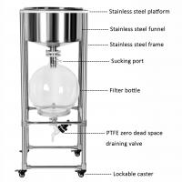Quality 10L 20L 30L 50L Laboratory Vacuum Filter Equipment with Glass Reactor Collection Flask for sale