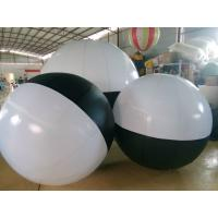 Best Black And White Inflatable Ball Inflatable Advertising Balloons , Diameter 2 Meter wholesale