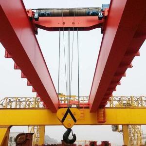 Quality Span 5m Warehouse Heavy Duty Double Girder EOT Crane for sale