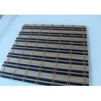 Quality Industrial Natural Bamboo Roll Up Window Blind Roman Style Room Use for sale