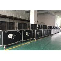 Quality Black Flight Case Aluminum Tool Cases Easy To Moving Customized Size for sale