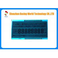 Quality Positive Transflective Character LCD Screen 1 / 8 Duty For Energy Meter for sale