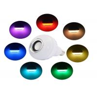 China Dimmable Colorful Audio Bluetooth Music Light Bulb Wireless For Home on sale