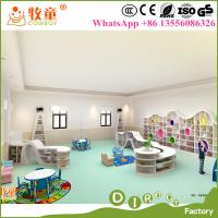 China High quality and Luxury International Preschool Kindergarten Reading Room Library Furniture Sets on sale