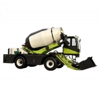 Quality Green 40° Climb 116HP 85kw 3m³  Concrete Mixer Truck for sale