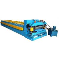 Quality Color Coated Coil 16 Station Roller Roll Forming Machine For Roofing Sheet for sale