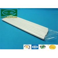 Quality Milky white clear strongest hot glue sticks / hot melt adhesive for sale