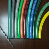 Quality Plastic expandable water hose reinforced flexible wire spiral braided garden pvc water hose pipe for sale