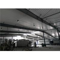 Quality Construction design large span color coated Philippines light steel structure industrial workshop for sale