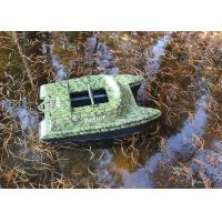 Quality DEVC-308 camouflage bait boat fish finder 5-6 Class Wave Resistance for sale