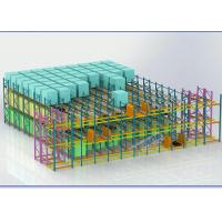 China Supply Chain Pallet Shuttle System For Beverage / Medicines / Wine Storage on sale