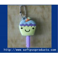 Quality Cute Novelty Keyrings Soft PVC Keychain for Souvenir / Christmas Gifts with Rubber , Silicone for sale