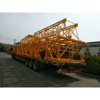 Quality Self Erecting Hammer Head Tower Crane 10 ton 65 m Boom Building for sale