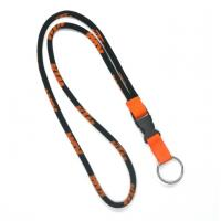 Best Polyester Custom Woven Round Lanyards , 5mm Dia Rope Lanyards wholesale