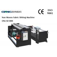 Quality PLC Controller Slitter And Rewinder Machine High Accuracy 240 m / min Slitting Speed for sale