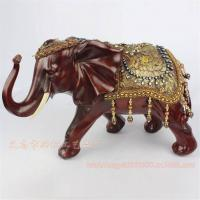 Buy cheap Environmental Resin Elephant Decoration with Polyfoam Safety Package(XH069) from wholesalers