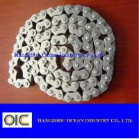40Mn CD70 Transmission Spare Parts / Motorcycle Sprocket Chain for sale