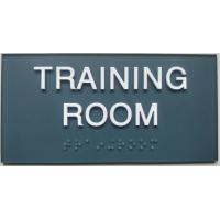 "Quality SW 6229 ADA Room Signage 3""X 6"" , Clear Grade II Braille Custom Made Signs for sale"