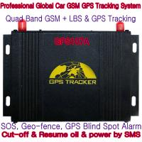 Best GPS107A Professional Car Safety GPS Vehicle Tracker W/ Cut-off & Resume oil & power by SMS wholesale