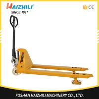 Best 3T Capacity D Type Pump Hydraulic Cylinder Manual Hand Pallet Truck For Warehouse wholesale