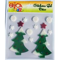 China Different style Christmas window stickers, christmas gift on sale