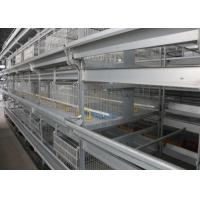Quality Industrial Broiler House Equipment Wire Chicken Cages ISO9001 Approved for sale