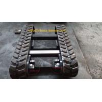 Best RUBBER TRACKED HARVESTER UNDERCARRIAGE KRT1500/1.5 ton load/engineering machinery parts/with hydraulic motor and reducer wholesale