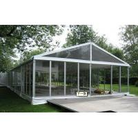 Quality high quality clear roof wedding tent,clear roof tent for banquet for sale