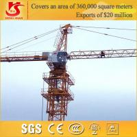 Quality 3-5t tower crane/ construction machinery small construction crane for sale