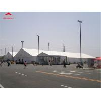 Quality 20M Large Outdoor Event Tent For Party / Exhibition With White PVC Roof Cover for sale