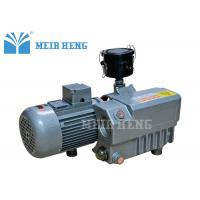 Quality Oil Single Stage Rotary Vane Vacuum Pump 220V 380V Cast Iron With Strainer for sale