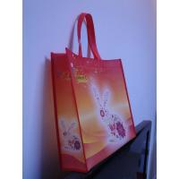 China custom promotional cheap custom non woven bag with logo printing on sale