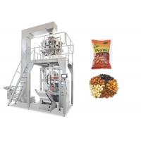 Quality Fully Automatic Muilti- heads Weigher Packaging Machine For Nuts / Peanut / Dry Fruits for sale