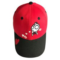 Quality Korean Style Childrens Fitted Hats With Embroidered Cute Pattern Breathable for sale