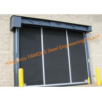Quality Extra-large Commercial Rubber Garage Doors Industrial-strength High Speed Roll Up Rubber Doors for sale