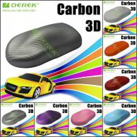 Quality 3D Carbon Fiber Vinyl Wrapping Film bubble free 1.52*30m/roll - Pearl Grey for sale