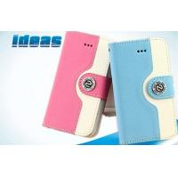 Quality Flip Apple iPhone Leather Cases / Wallet Cover For iPhone 5 for sale