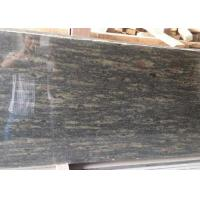 China Green granite tiles Cocktail Green granite stone tiles polished finished on sale