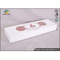 Quality Elegant Printed Medicine Packaging Box Screen Printing With Cloth Decoration for sale