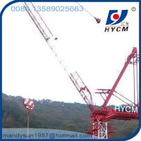 Quality 6tons QTD2520 Luffing Jib Crane Feature Tower Crane 25m Jib Tower Crane for sale