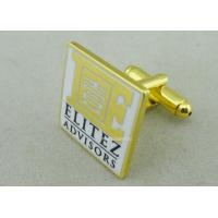 Quality Customized Personalized Tie Bar For Business Gifts / Hard Enamel Promotional Cufflink for sale