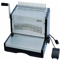 Quality Electric Plastic Comb Punching Binding Machine ES8708 For Notebook for sale
