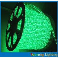 Best 1/2'' 2 wire round christmas decoration led rope lighting green wholesale