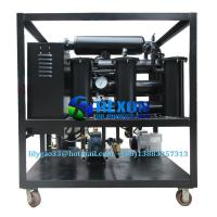 Quality Small High Effective Single Stage Vacuum Insulating Oil Filtration System 600LPH for sale