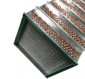 Quality Copper Tube Fin Type Air Heat Exchanger Hydroponic  6.35 mm for sale