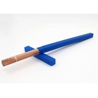 Quality 2.5mm Round BCuP-2 Copper Phosphorus Brazing Rods for sale