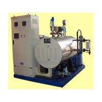 Duct Type Electric Thermal Oil Heater Designed For Heating Medium With Vessel