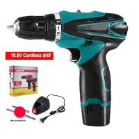 China 1500mAh Power 16V Cordless Drill Reverse Rotation High Speed For Tough Jobs on sale