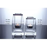 China perfect design tealight candle holder with wood lid for decor on sale