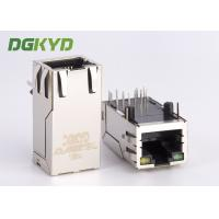Quality 33mm length right angle 1000Mb Gigabit RJ45 connector module Integrated magnetics for sale